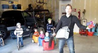 Μαζί με τα 5 παιδιά του Αποφάσισε να γυρίσει ένα μουσικό Βίντεο για τη Γυναίκα του. Το αποτέλεσμα… Θα σας κάνει να Ξεκαρδιστείτε!