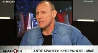 Ο ηθοποιός Κλέων Γρηγοριάδης κάνει τον Πρετεντέρη να καταπιεί την γλώσσα του!