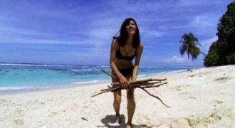 Έζησε 19 ημέρες σε απομακρυσμένο νησί παίρνοντας μαζί της μόνο ένα μεγεθυντικό φακό και ένα δόρυ
