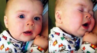 Αυτό το μωρό λέει «Ω, όχι» όταν φτερνίζεται και είναι απίστευτα Γλυκό!