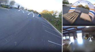 Ένας αγώνας με Drone που δεν έχει να ζηλέψει τίποτα από την Formula 1. Συγκλονιστικό!