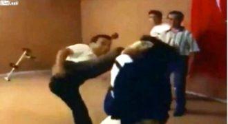 Απίστευτο βίντεο: Όταν η τέχνη του καράτε μετατρέπεται σε επίδειξη του… βαράτε