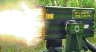 ΔΕΙΤΕ πώς πυροβολεί το ταχύτερο πολυβόλο στον κόσμο!