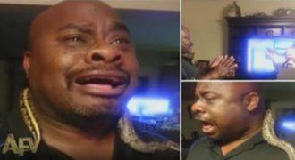 Η αντίδραση ενός άντρα που φοβόταν τα φίδια και ήρθε σε επαφή με ένα από αυτά. (Βίντεο)