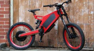 Αυτό το ηλεκτρικό ποδήλατο μπορεί να φτάσει ταχύτητες των 80 χλμ/ώρα (Βίντεο)