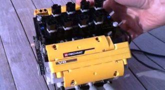 Έφτιαξαν πραγματικό κινητήρα V8 χρησιμοποιώντας τουβλάκια από.. LEGO!