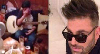 Συγκινητικό: Ο μικρός αδερφός του Παντελίδη παίζει στην κιθάρα τραγούδι του Παντελή και βάζει τα κλάματα (VIDEO)