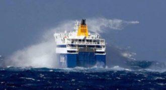 To Blue Star Naxos δίνει μάχη με τα κύματα! Βίντεο!