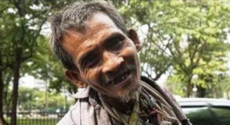 Ζει άστεγος στους δρόμους. Αλλά όταν πιάνει μπογιά στα χέρια του, κάτι μαγικό συμβαίνει..
