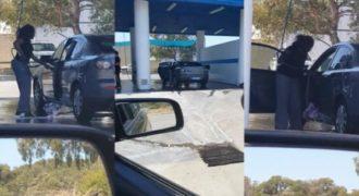 Όταν μια γυναίκα αποφασίζει να πλύνει το αυτοκίνητο της το αποτέλεσμα είναι αυτό.