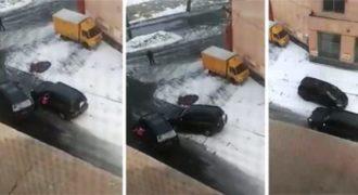Δείτε πως έλυσαν τις διαφορές τους δυο γυναίκες οδηγοί στο Καζακστάν (Video)
