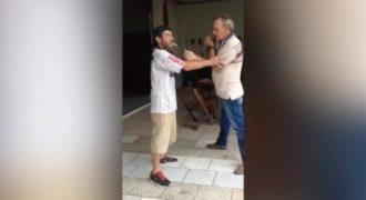 Το βίντεο που έγινε Viral! Δύο μεθυσμένοι προσπαθούν να ανάψουν ένα τσιγάρο. (Βίντεο)