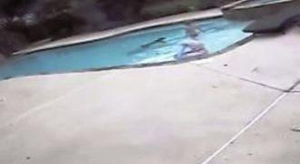 5χρονη σώζει από βέβαιο θάνατο τη μητέρα της μέσα από την πισίνα