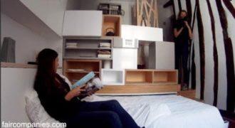 Το Διαμέρισμά της είναι μόλις 11 Τετραγωνικά. Μόλις όμως δείτε την Κουζίνα της… Θα το Λατρέψετε!