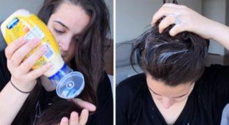 Έριξε την μαγιονέζα στα μαλλιά της και μετά από 20 λεπτά είχε ένα funky αποτέλεσμα! (Βίντεο)