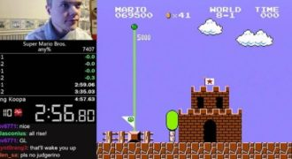Τερμάτισε το Super Mario Bros σε λιγότερο από 5 λεπτά!