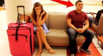 Περίμενε την πτήση της αλλά όταν ο τύπος που καθόταν δίπλα της έκανε αυτό… και χάσανε όλοι τα λογικά τους!