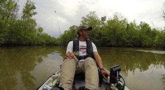 Ψαράς πήρε την τρομάρα της ζωής του με ένα απρόσμενο θήραμα