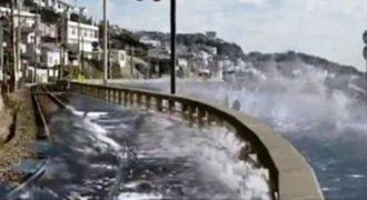 Εκπληκτικό βίντεο: Δείτε πως οι αρχές της Ιαπωνίας αφυπνίζουν για τσουνάμι