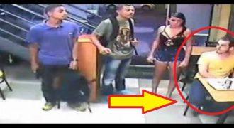 Ο τύπος με την κίτρινη μπλούζα αξίζει όσκαρ ψυχραιμίας κατά τη διάρκεια ληστείας στη Βραζιλία.