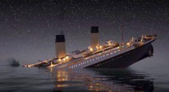 Τώρα μπορείτε να παρακολουθήσετε το ναυάγιο του Τιτανικού σε πραγματικό χρόνο.(Video)