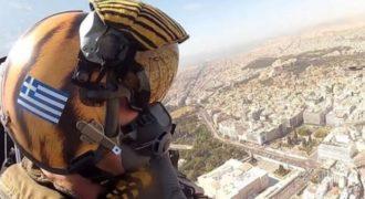 Δείτε το video μέσα από το F-16 πάνω από την Ακρόπολη