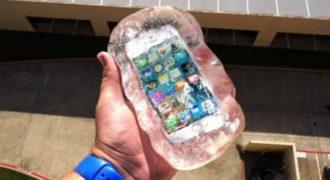 Πέταξε ένα iPhone από 30 μέτρα μέσα σε ένα υλικό – Δείτε τι έγινε! (video)