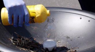 Τι θα συμβεί όταν ανακατεύσουμε υγρό φρένων στο χλώριο; Προσοχή μην το δοκιμάσετε!