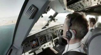 Έτσι φαίνεται ο κόσμος από το κόκπιτ ενός Airbus A320!