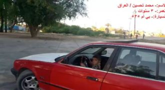 Σε ηλικία μόλις 3 ετών ένα αγόρι κάνει drift οδηγώντας μια BMW (Βίντεο)