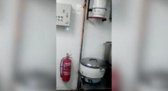Η φρικτή σκηνή μέσα στην κουζίνα ενός Ασιατικού εστιατορίου που θα σας φρικάρει. (Video)