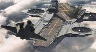 Η Ρωσία κατασκευάζει… ιπτάμενο αεροπλανοφόρο αντιβαρύτητας; (Βίντεο)
