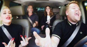 Στο carpool καραόκε με την Γκουέν Στεφάνι, έσκασε ο Τζορτζ Κλούνεϊ και η Τζούλια Ρόμπερτς!