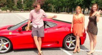 Πως αντιδρούν οι άνδρες στη θέα δυο γυναικών με Ferrari; (Βίντεο)