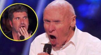 82χρονος παππούς τραγουδάει χέβι μέταλ μουσική και το διαδίκτυο μένει κόκκαλο!