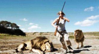 Λιοντάρι πήρε την εκδίκηση του από… Κυνηγό σε Σαφάρι (Video)