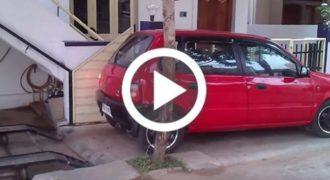 Επική πατέντα για παρκάρισμα σε στενό χώρο! (Βίντεο)