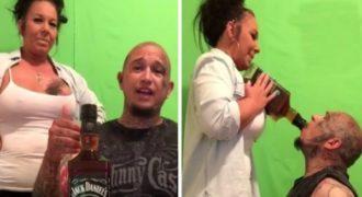 Ήπιε Μονορούφι ένα Ολόκληρο Μπουκάλι Ουίσκι μέσα σε 55 Δευτερόλεπτα και… Δείτε ΤΙ έπαθε!