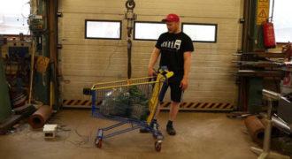 Ξέρετε πόσο βάρος μπορεί να αντέξει ένα καροτσάκι του σούπερ μάρκετ;