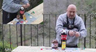Πείραμα με Mentos, Coca-Cola, Nutella και ένα… προφυλακτικό! (Βίντεο)