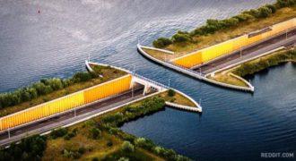 Οι Ολλανδοί έχτισαν μια γέφυρα που χρειαστήκαν όλοι οι νόμοι της φυσικής.(Βίντεο)