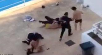 Απίστευτο βίντεο: Γκάνγκστερ το έπαιζε μάγκας σε πεζοναύτη: «Θα σου γ…» και έτσι. Δείτε τι έγινε όταν ΤΑ ΠΗΡΕ (Video)