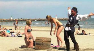 Ο Remi Gaillard τρελαίνει κόσμο σε ρόλο πειρατή (Βίντεο)