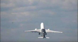 Η πιο εντυπωσιακή απογείωση Airbus που έχετε δει ποτέ (Βίντεο)
