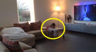 Πατέρας έβαλε Κρυφή Κάμερα για να Παρακολουθεί την 4χρονη Κόρη του. Αυτό όμως που Κατέγραψε, δεν το περίμενε με τίποτα…