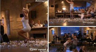 Χαμός με το χορό της Ράνιας Κωστάκη! «Φωτιά» η ραδιοφωνική παραγωγός… (video)