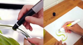 «Έξυπνο» στιλό σκανάρει και αποτυπώνει χρώματα από παντού!