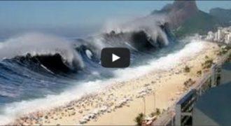 Το τσουνάμι στον Ινδικό Ωκεανό. Δείτε το συγκλονιστικό βίντεο…