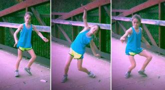 Δείτε πόσο καλά χορεύει αυτό το κορίτσι και θα μείνετε με το στόμα ανοιχτό! (Βίντεο)