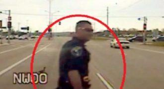 Ο καλύτερος αστυνομικός της χρονιάς είναι αυτός εδώ! Δείτε τι έκανε… (Βίντεο)